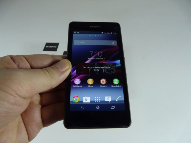 xperia z1 compact unboxing 1