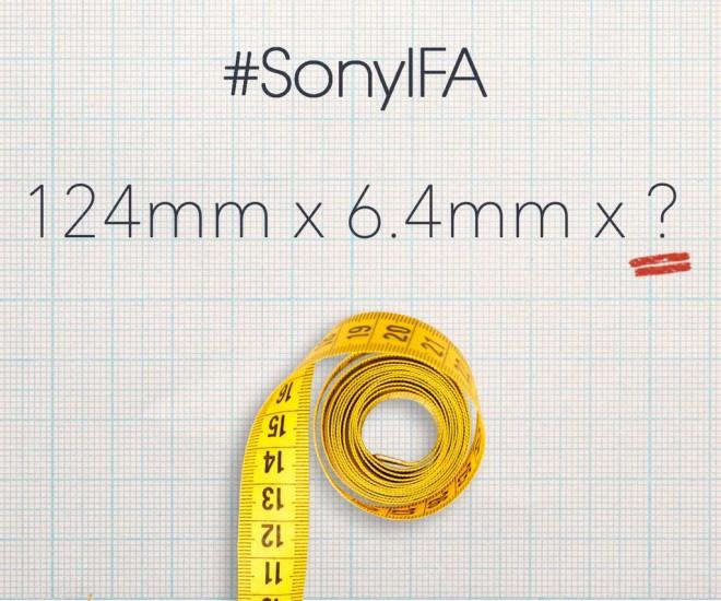 sony IFA teaser
