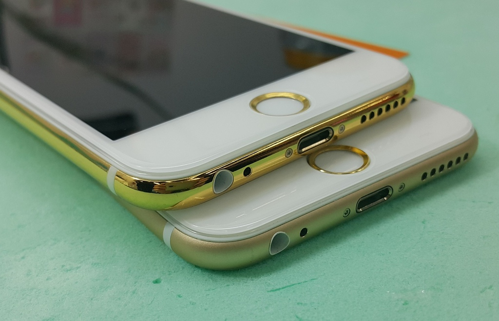 Goldgenie offers 24ct gold-plated iPhone 6 and iPhone 6 Plus ...
