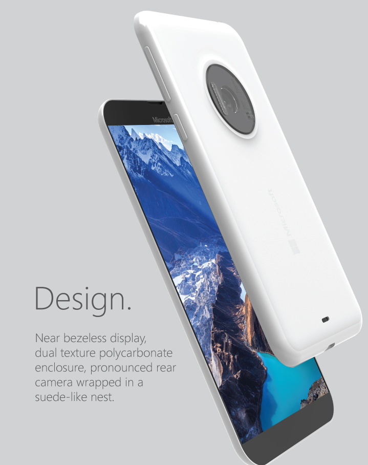 Microsoft Lumia 935 is a Beautiful Concept Phone With a 31 Megapixel