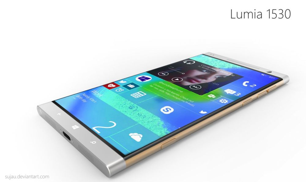 Nokia Lumia 1530 Gets Beautiful Concept Render, Courtesy of Designer Sujau