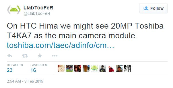 htc hima camera