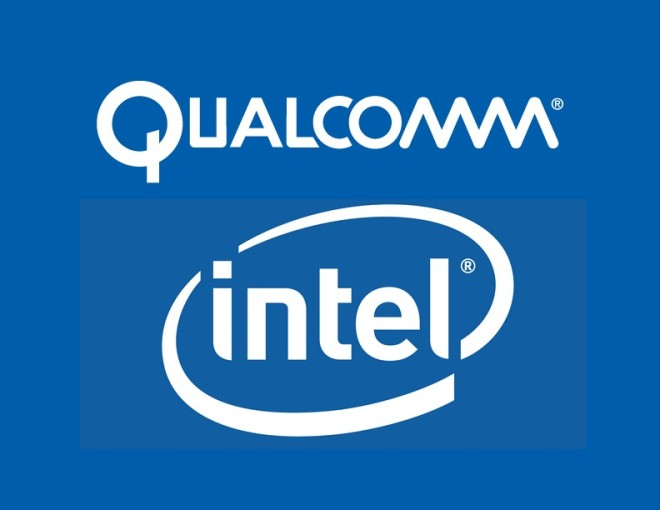 Qualcomm_ intel logo