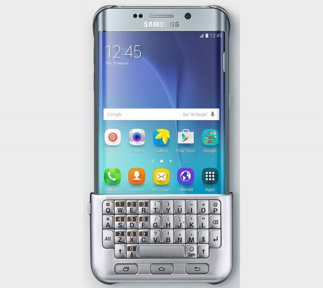 Samsung Galaxy S6 Edge Plus QWERTY keyboard