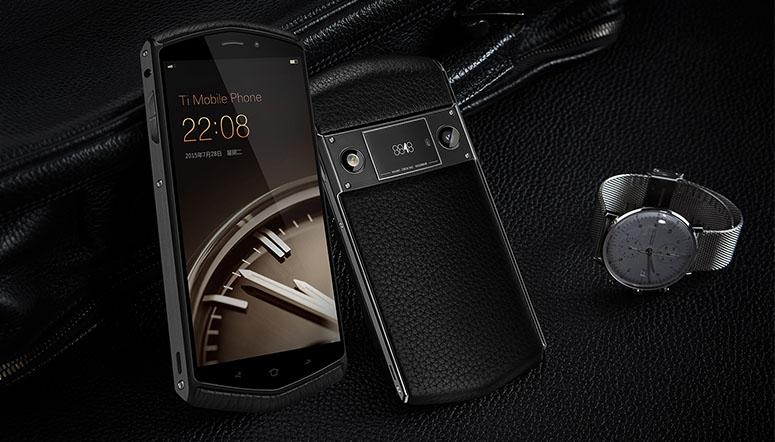8848 Ti Mobile Phone Is Like The Chinese Vertu Priced At