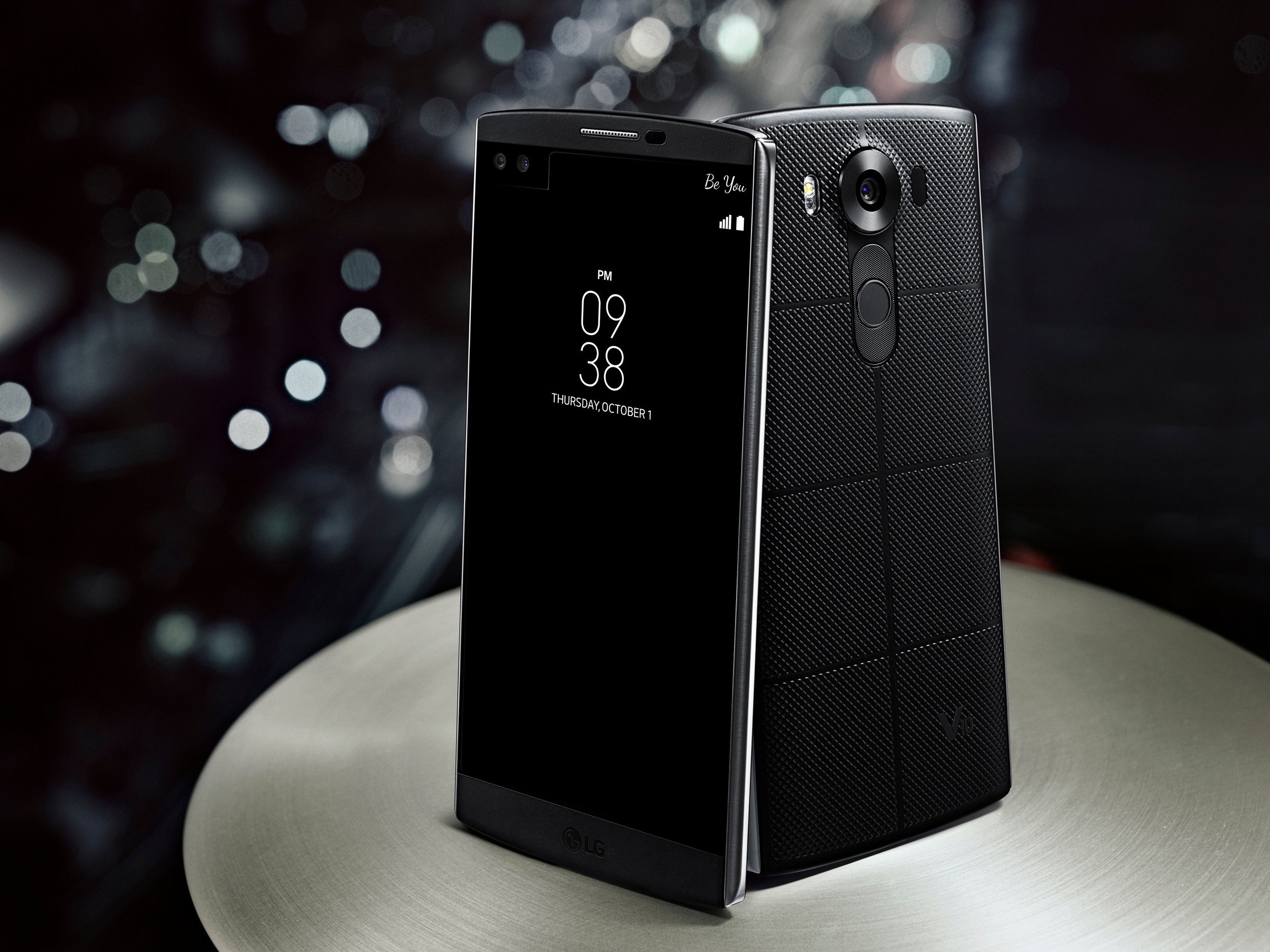 lg v10 the 5 7 inch phablet with secondary display now official