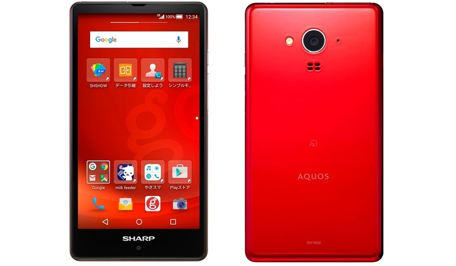 Sharp Aquos SH-M02 Is a New Mid-Range Device Announced in