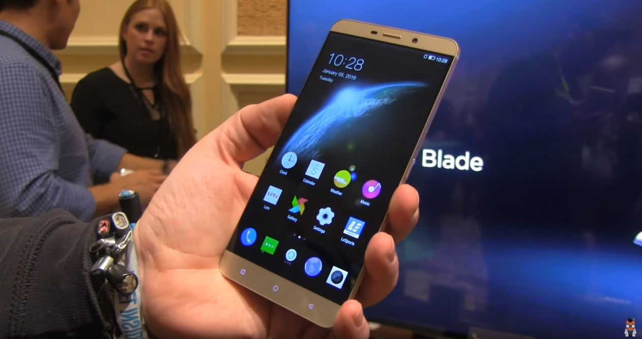 CES 2016: LeTV Le Max Pro Gets Handled on Film in Las ...