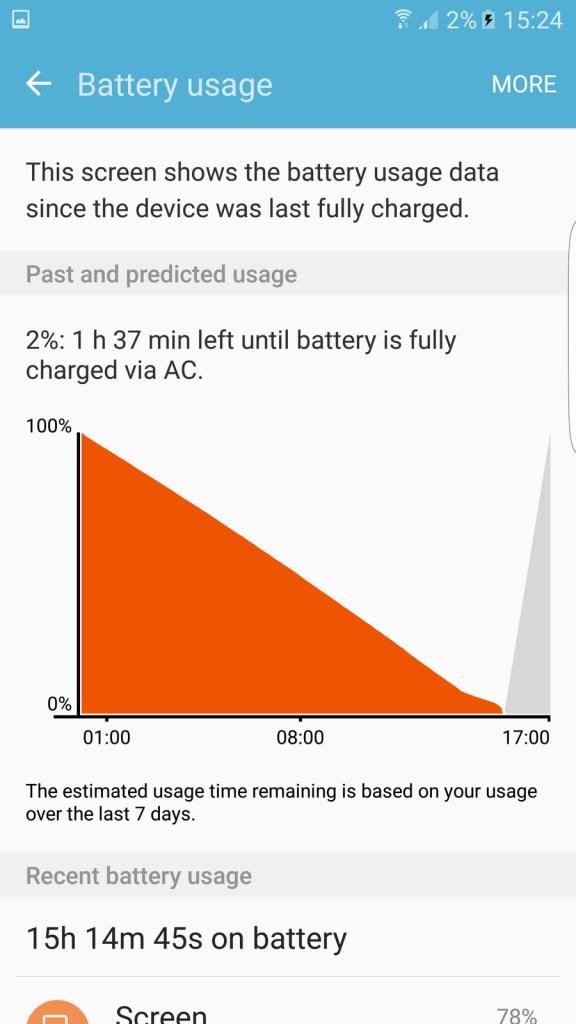 battery s7 edge