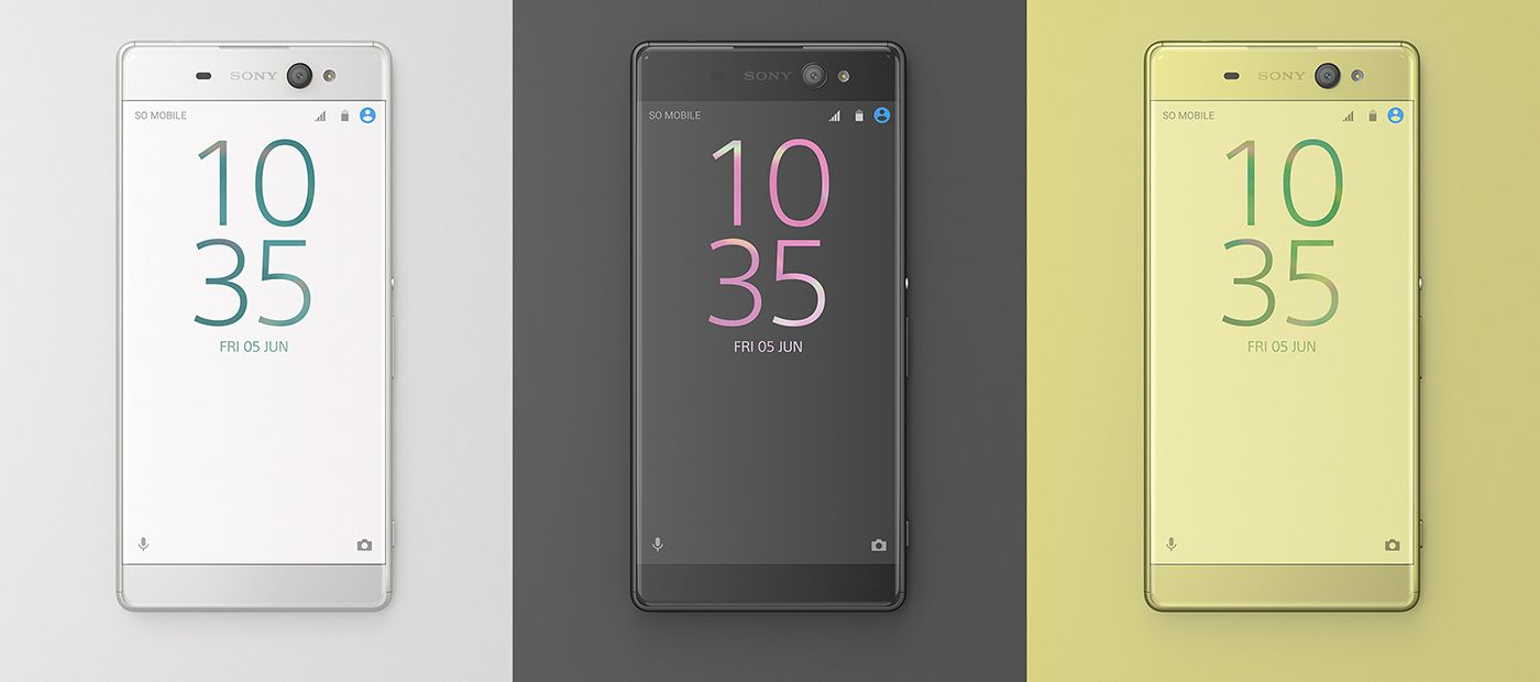 Sony Debuts Xperia Xa Ultra Phablet With 16 Megapixel