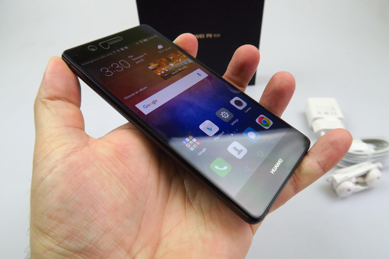 huawei p9 lite unboxing one of the lightest phones i 39 ve felt video. Black Bedroom Furniture Sets. Home Design Ideas