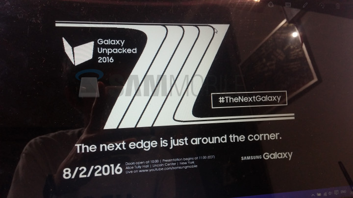 Samsung Galaxy Note 7/ Note 7 Edge to Debut on August 2nd, According