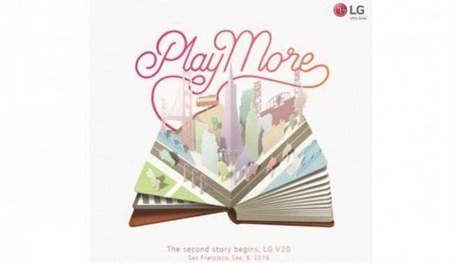 LG V20 launch event invite