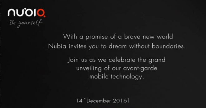 nubia-india-launch-invite