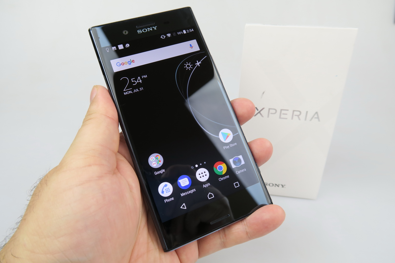 Sony Xperia Xperia Xz Premium Unboxing 4k Hdr Waterproof Machine Goes Slow Motion In Incredible Fashion Video Gsmdome Com