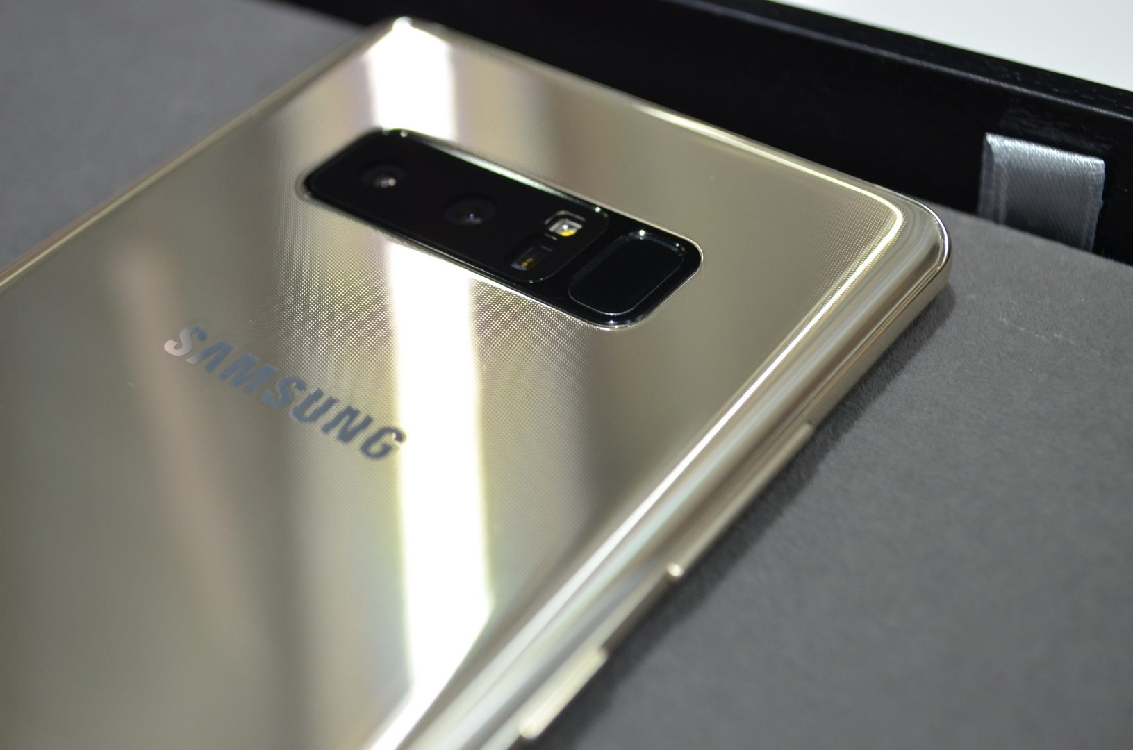 Samsung Galaxy Note 8 Hands on Review: First Impressions About
