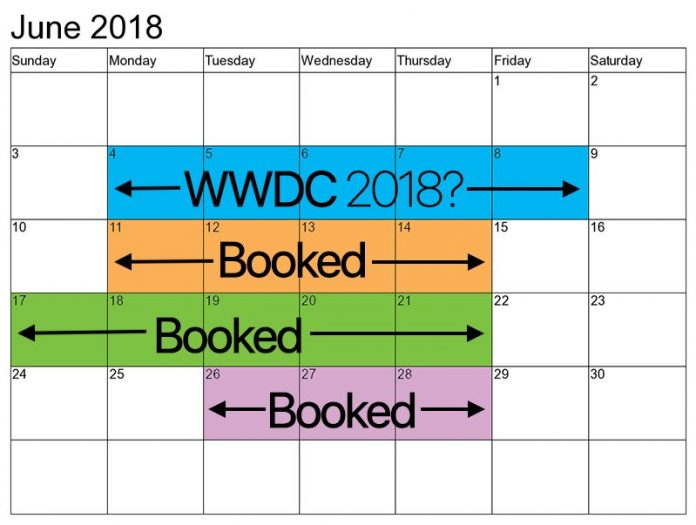 Calendar Lottery June : Wwdc could take place between june th at san