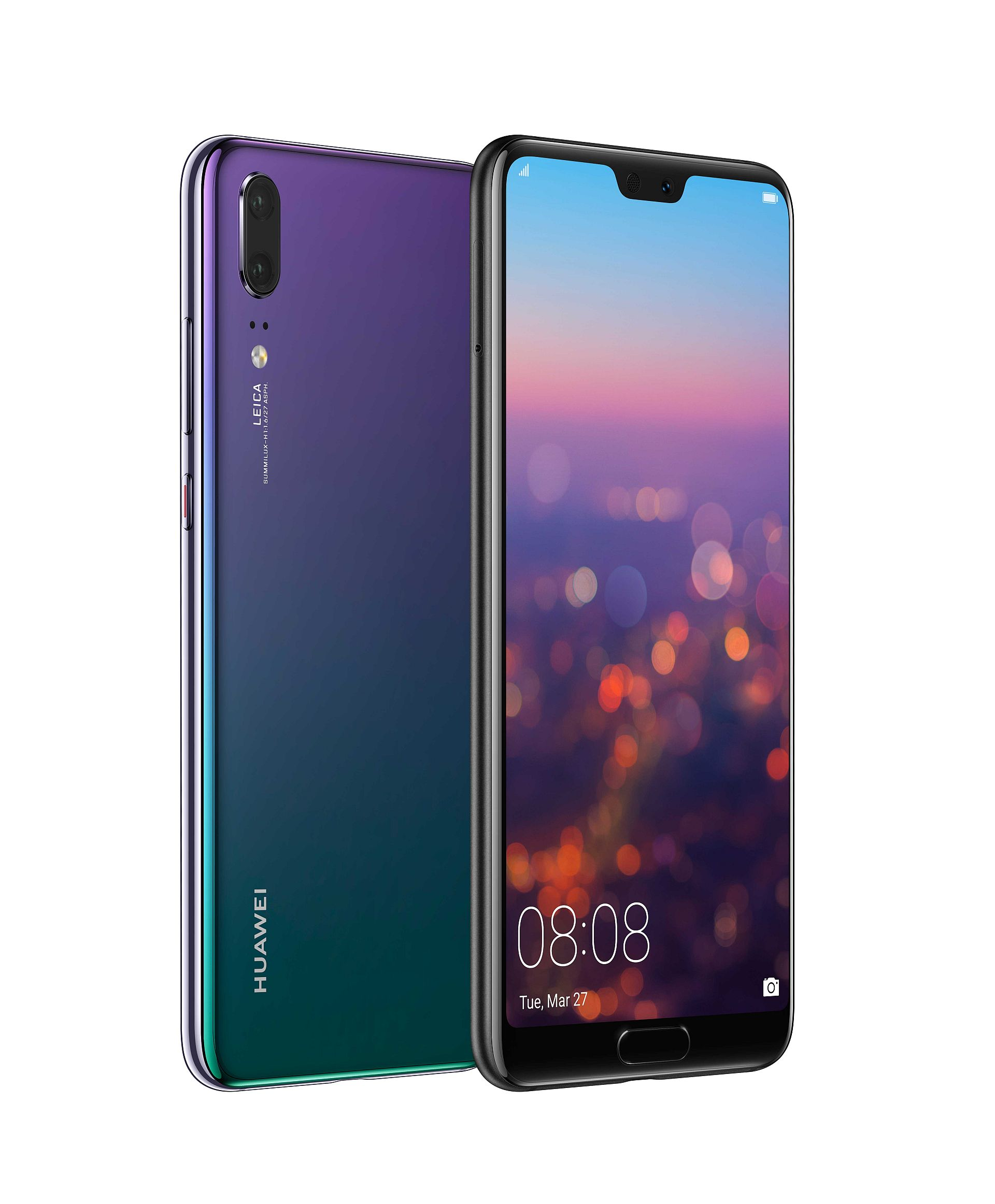 Huawei P20 P20 Pro Become Official With 24 Mp Front Camera Notch Triple Cam For Pro Model