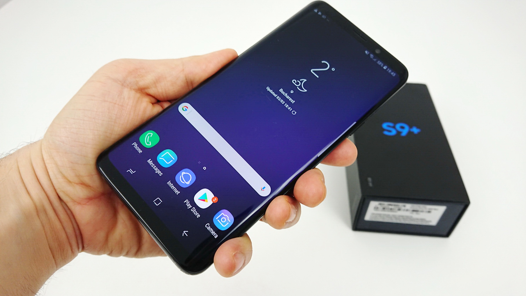 unboxing samsung galaxy s9