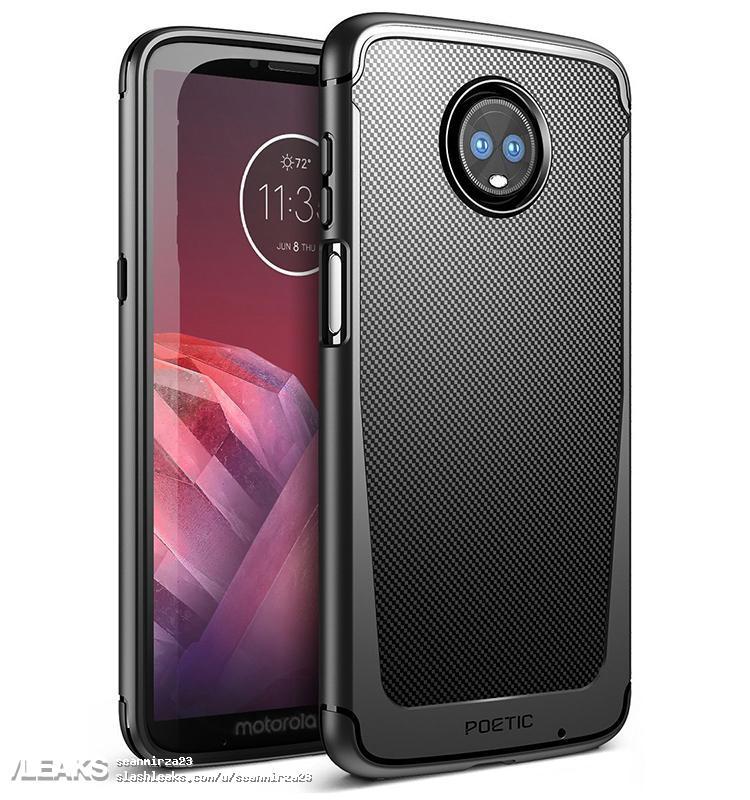 size 40 e94ea f83f3 Motorola Moto Z3 Play Leaks in New Case Renders, With Dual Camera ...