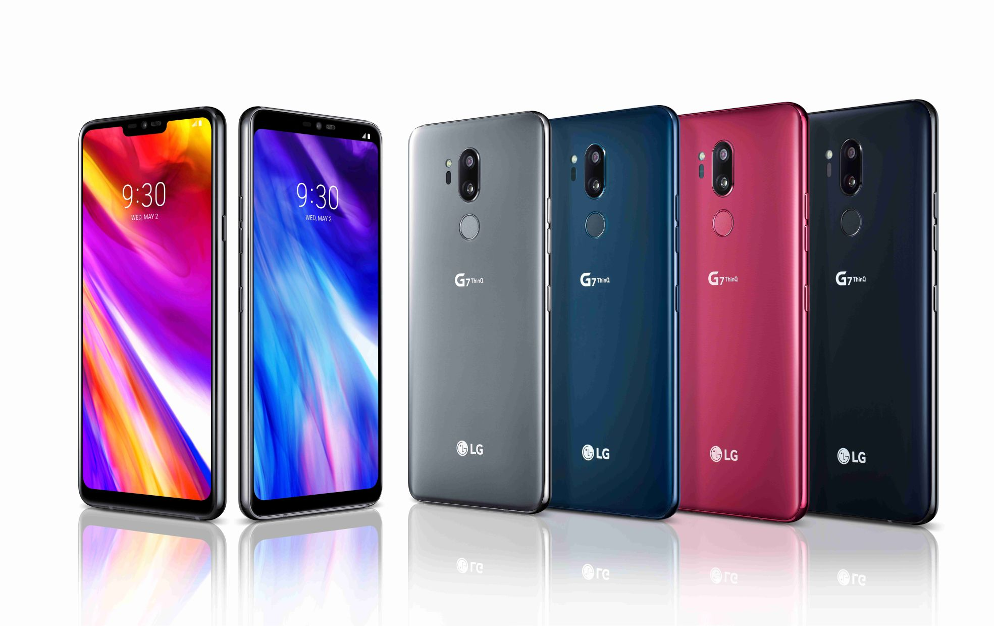 LG G7 ThinQ Launched Officially, With 6.1 inch Notch Screen, Dual Camera With AI, S845 CPU