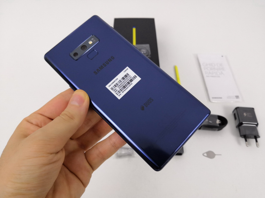 Samsung Galaxy Note 9 Unboxing Heavier More Massive