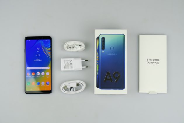 Samsung Galaxy A9 2018 Unboxing 4 Cameras Are Better